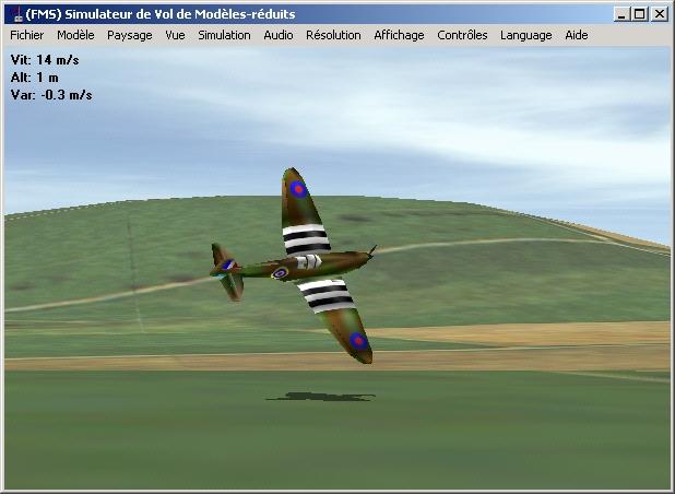 gratuitement simulateur de vol fms
